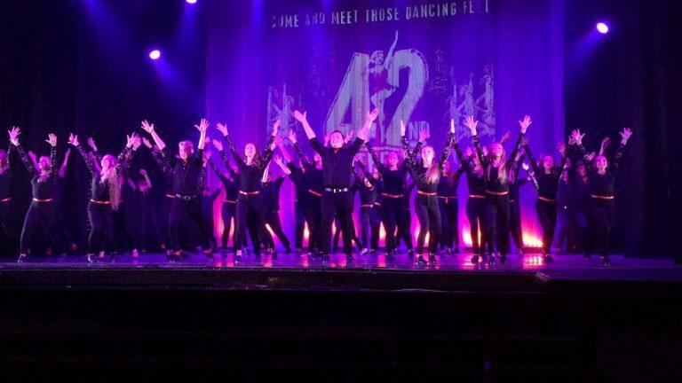 Performing 42nd Street
