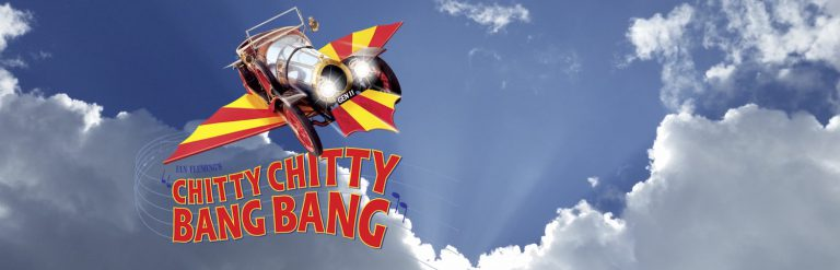 Chitty car flying