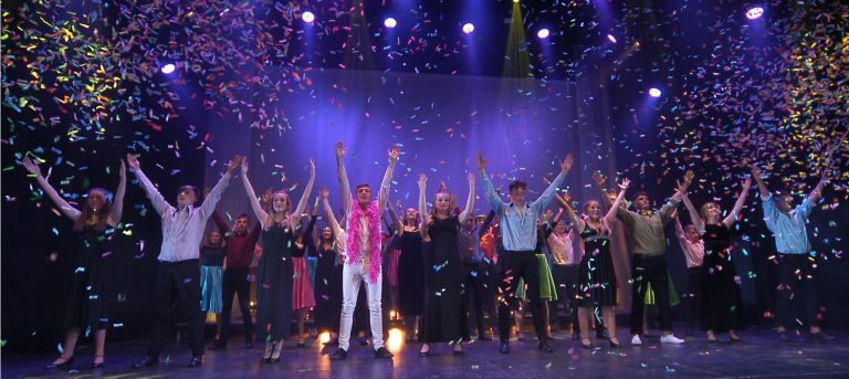 The finale after the bows.