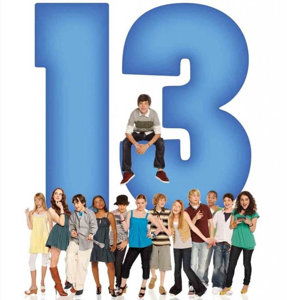 Poster for 13 the Musical